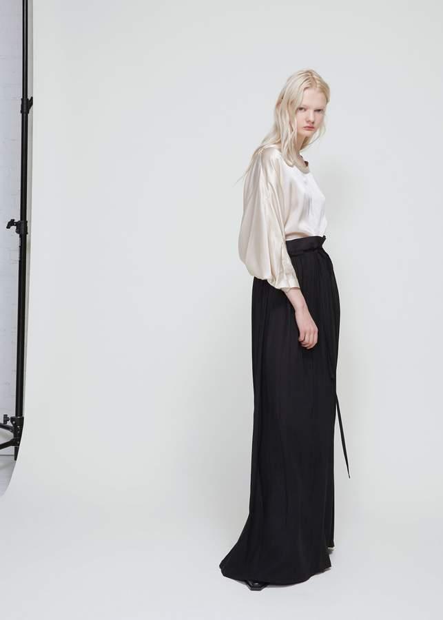 Ann Demeulemeester Long Skirt