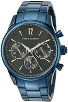 Vince Camuto Men's VC/1085DGNV The Chairman Multi-Function Dial Navy Blue Bracelet Watch