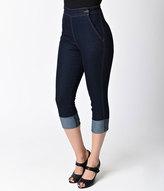 High Waist Capri Jeans - ShopStyle