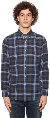 Polo Ralph Lauren Classic Slim Checked Cotton Oxford Shirt