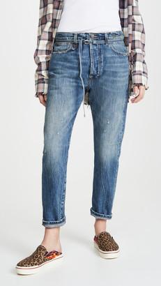 R 13 Paperbag Hayden Jeans