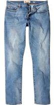 River Island MensLight vintage blue wash Dylan slim jeans