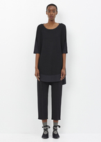 Issey Miyake black berry knit ap shirt