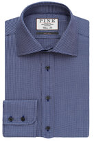 Thomas Pink James Texture Classic Fit Button Cuff Shirt