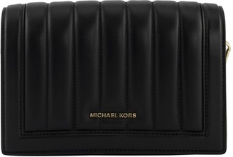 Michael Kors Small Shoulder Bag In Quilted Leather