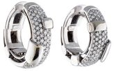 Damiani Diamond Hoop Earrings