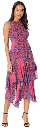 Nanette Lepore Magic Garden Dress (Coral Multi) Women's Dress