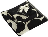 Marimekko Unikko Towel - Black/Sand - Guest Towel