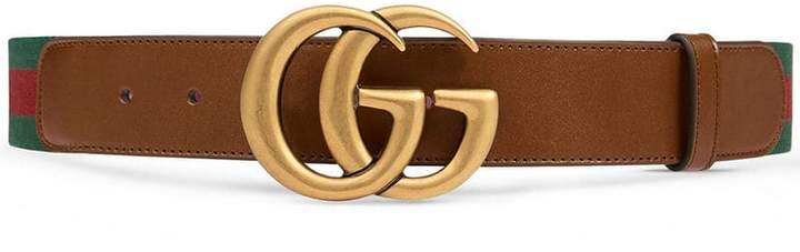 5a4c23ae18f0 Gucci Web Belt - ShopStyle