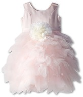 Us Angels Satin and Tulle Dress w/ Flower (Little Kids)