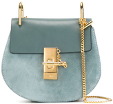 Chloé Mini Drew Shoulder Bag - Blue