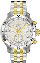 Tissot Men's Steel Bracelet & Case Sapphire Crystal Swiss Quartz -Tone Dial Watch T0674171103101
