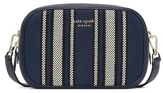 Kate Spade Medium Astrid Canvas Stripe Camera Bag