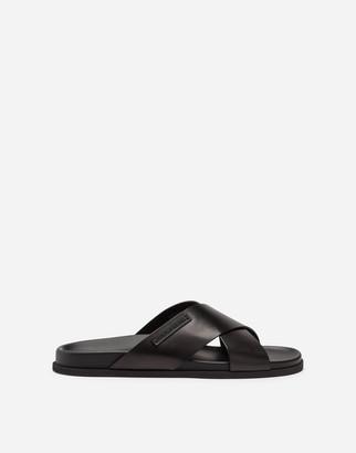 Dolce & Gabbana Calfskin Sandals