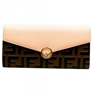 Fendi Pink Leather Wallets