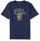 Ralph Lauren Slub Cotton Jersey Graphic Tee