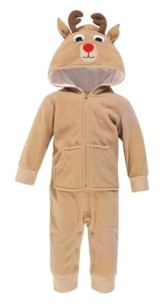 Hudson Baby Baby Girls and Boys Fleece Coveralls and Playsuits Jumpsuits
