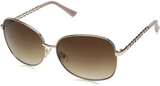 UNIONBAY Union Bay Women's U543 GLDTP Oval Sunglasses