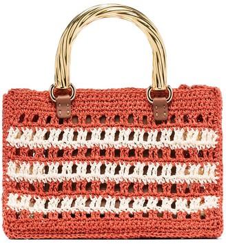 MEHRY MU Lucia mini raffia bag