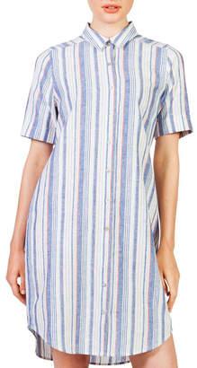 Skin and Threads Short sleeve shirt dress