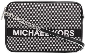 MICHAEL Michael Kors logo embroidered shoulder bag
