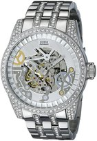 GUESS GUESS? Men's U0012G1 Stainless-Steel Automatic Watch with Dial