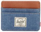 Herschel Charlie Denim Leather Card Holder
