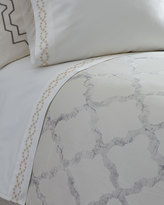 Vera Wang King Diamond Eyelet 400TC Flat Sheet