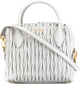 Miu Miu small textured tote bag - women - Leather - One Size