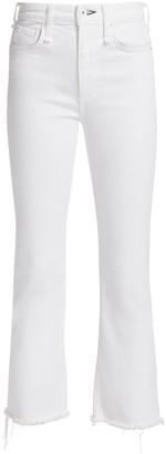 Rag & Bone Nina High-Rise Ankle Flare Crop Jeans