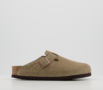 Birkenstock Boston Clogs Beige