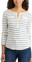 Chaps Women's Pocket Henley