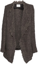 IRO Campbell oversized textured-knit cardigan