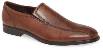 Ecco Queenstown Bike Toe Slip-On Leather Loafer