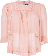 Isabel Marant Mara blouse - women - Silk/Viscose - 36