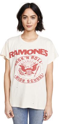 MadeWorn Ramones 1979 Rock Printed Tee