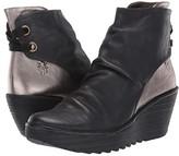 Fly London Yama (Black/Bronze Janeds/Idra) Women's Shoes
