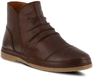 Spring Step Womens Gaspare Booties Flat Heel