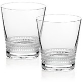 Lalique Large Facet Tumbler, Set of 2