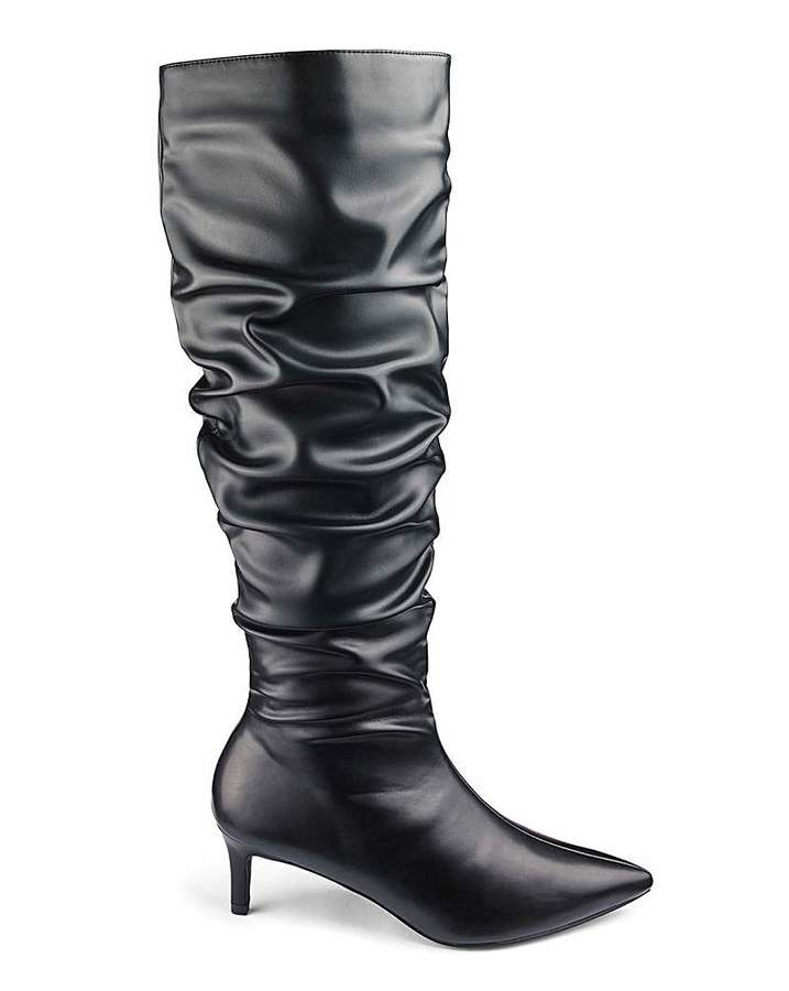 bbab6c4ecf0 Simply Be Lara Boots Standard Calf Extra Wide Fit