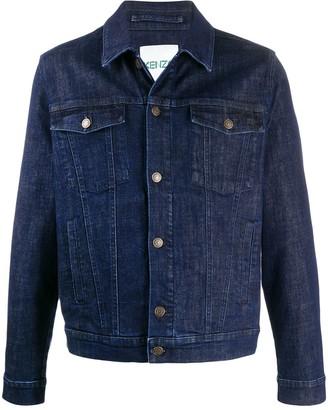 Kenzo Embroidered Denim Jacket
