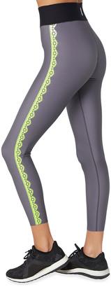 ULTRACOR Ultra High-Waist Lace-Print Performance Leggings