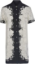 Etro Floral Printed Shirt Dress