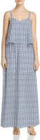 BB Dakota Overlay Printed Maxi Dress - 100% Exclusive