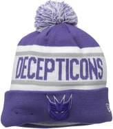 New Era Cap Men's Decepticons Biggest Fan Redux Pom Knit Beanie