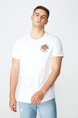 Factorie Curved Graphic T Shirt