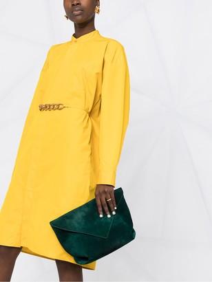 Givenchy Chain Belt Shirtdress