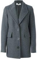 Stella McCartney peaked lapel coat - women - Cotton/Polyamide/Viscose/other fibers - 40