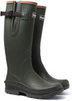 Barbour Hurricane Olive Wellington Boots