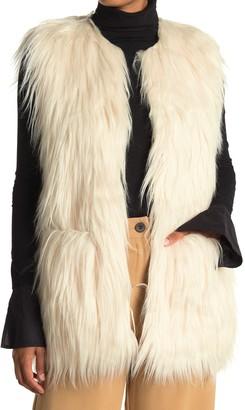 Zadig & Voltaire Fire Faux Fur Vest